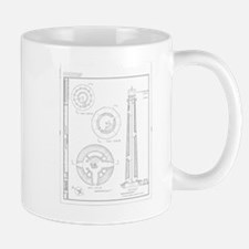 Absecon Lighthouse Blueprint Mugs