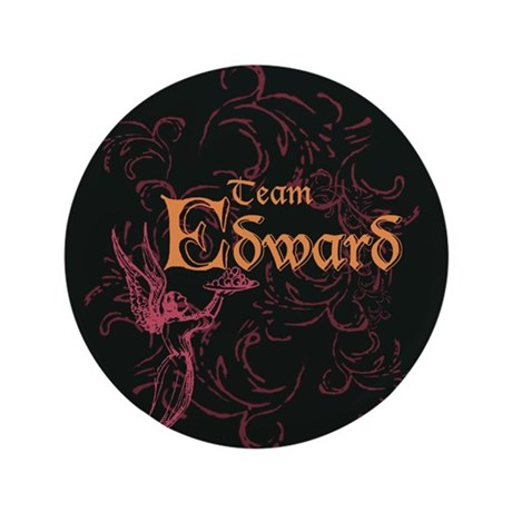 "Team Edward Eclipse 3.5"" Button"