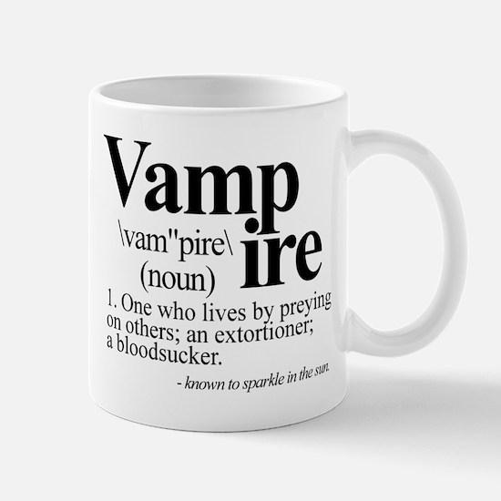 Definition of a Vampire Mug
