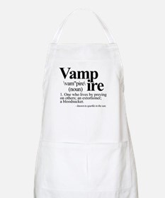 Definition of a Vampire Apron