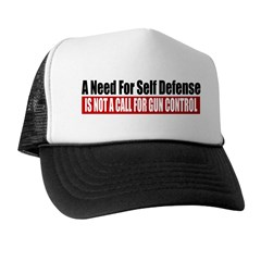 A Need for Self Defense Trucker Hat