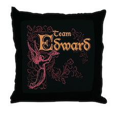 Team Edward Eclipse Throw Pillow