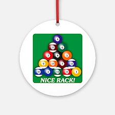 8-BALL Ornament (Round)