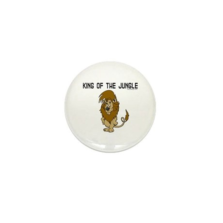 King of the Jungle Mini Button