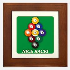 9-BALL Framed Tile