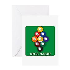 9-BALL Greeting Card