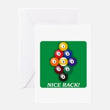 9-BALL Greeting Card