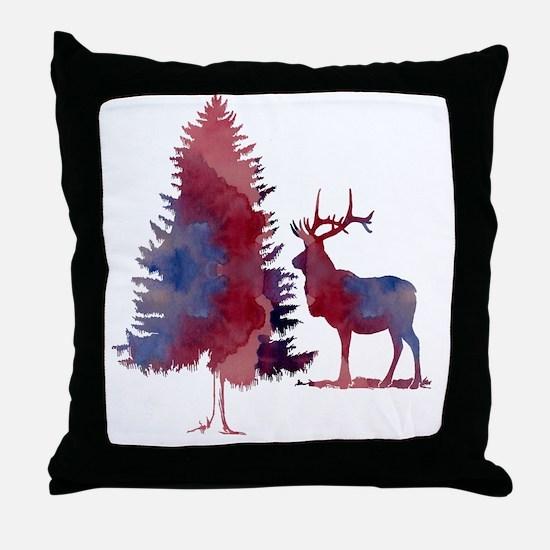 Cute Winter Throw Pillow