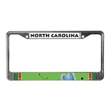 NC License Plate Frame