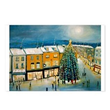 Christmas on Broad Street Postcards (Package of 8)