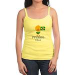 Brazil Soccer Futebol Chick Jr. Spaghetti Tank