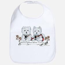 West Highland White Terriers Bib