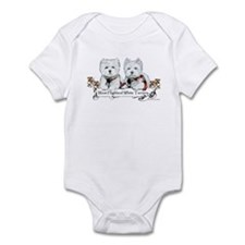 West Highland White Terriers Infant Creeper
