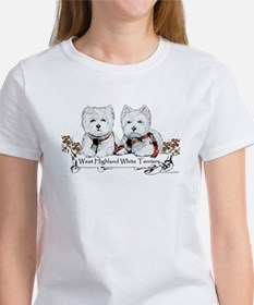 West Highland White Terriers Women's T-Shirt