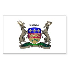 Quebec Family Shield Decal