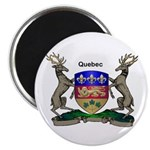 Quebec Family Shield Magnet