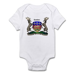 Quebec Family Shield Infant Bodysuit
