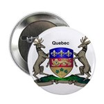 "Quebec Family Shield 2.25"" Button (100 pack)"