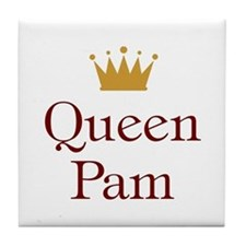 Queen Pam Tile Coaster