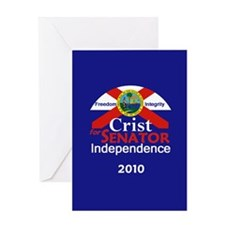 CRIST Independent Greeting Card