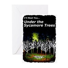 Under the Sycamore Trees greeting Cards Pack of 6