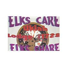 Ukiah Elks Lodge #1728 Rectangle Magnet (10 pack)