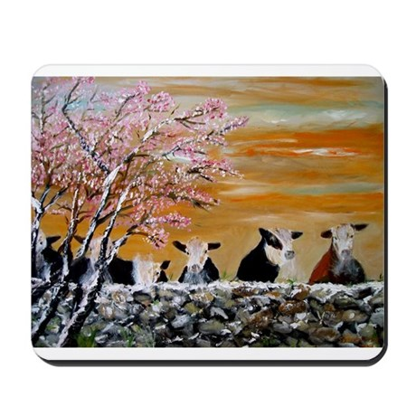 Over The Wall Mousepad