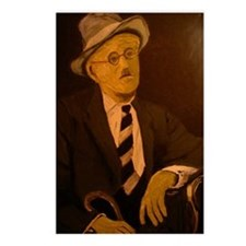 James Joyce Postcards (Package of 8)
