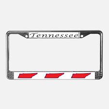 TN License Plate Frame