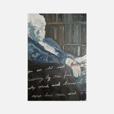 W.B. Yeats Rectangle Magnet