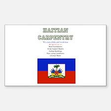 Unique Haiti relief Sticker (Rectangle 10 pk)