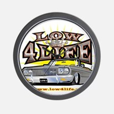 Low4Life Wall Clock