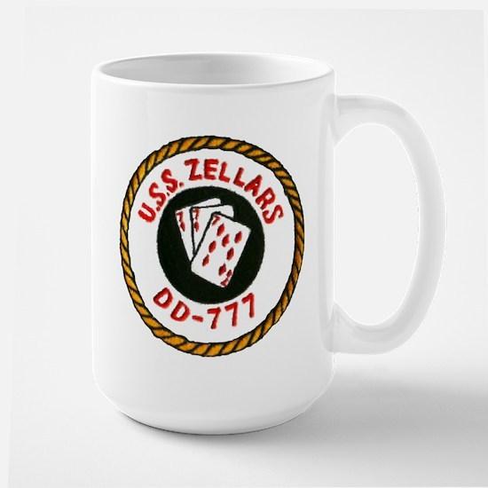 USS ZELLARS Large Mug