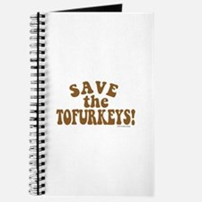 Save the Tofurkeys Journal
