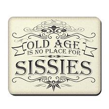 Old Age Mousepad