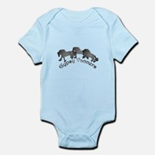 Gypsy Silhouettes Infant Bodysuit