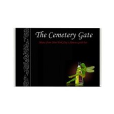 Cemetery Gate Green Fairy magnet