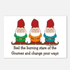 Burning Stare of The Gnomes Postcards (Package of