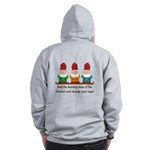 Burning Stare of The Gnomes Zip Hoodie