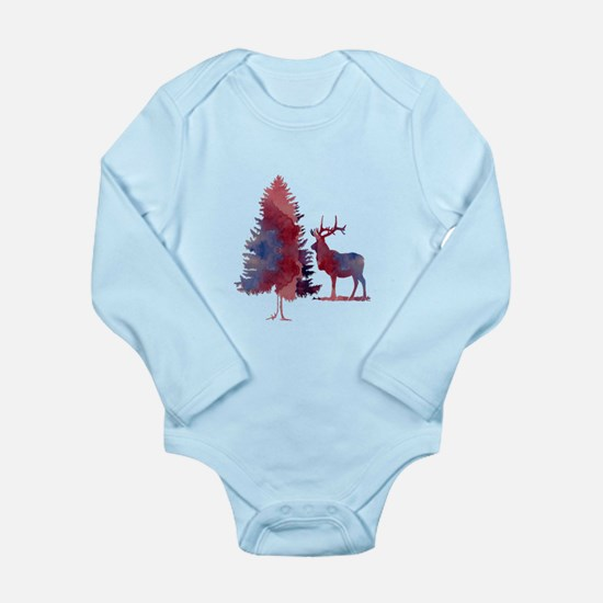 Deer and tree Body Suit
