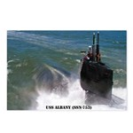 USS ALBANY Postcards (Package of 8)