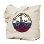 USS ALBANY Tote Bag