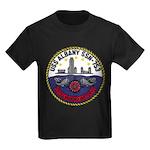 USS ALBANY Kids Dark T-Shirt