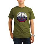 USS ALBANY Organic Men's T-Shirt (dark)
