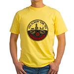 USS ALBANY Yellow T-Shirt