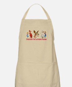 THROUGH THE LOOKING GLASS Apron