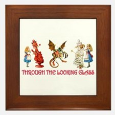 THROUGH THE LOOKING GLASS Framed Tile
