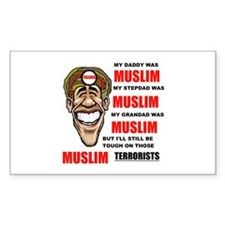 BARACK HUSSEIN Decal