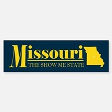 Missouri Gold Bumper Bumper Sticker