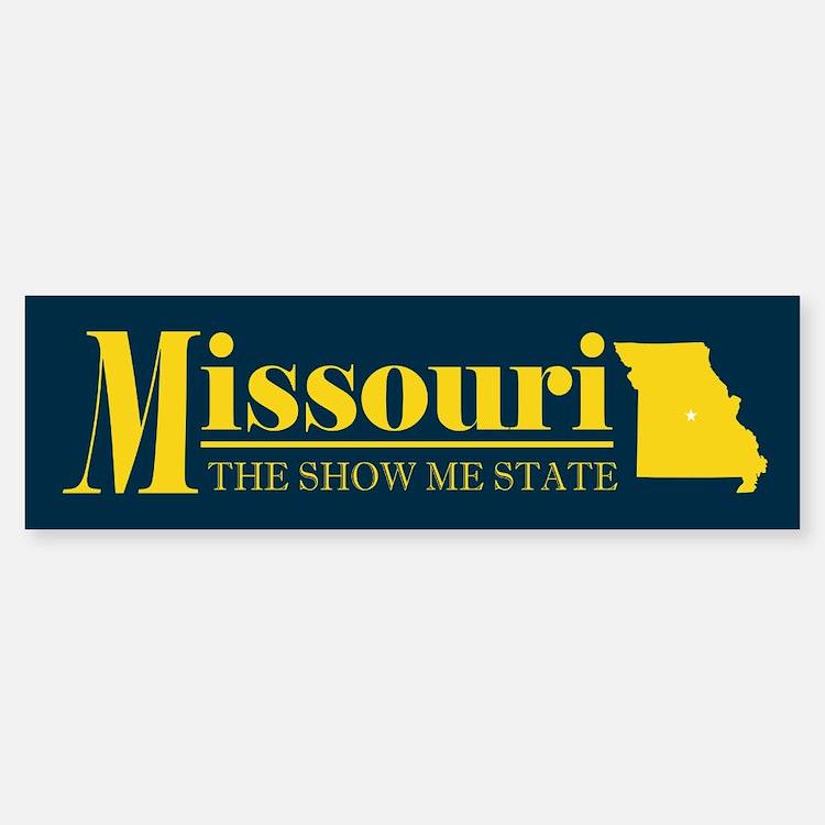 Missouri Gold Bumper Bumper Sticker